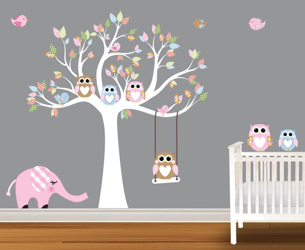 Baby Room Tree Wall Decals