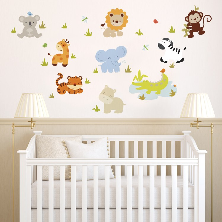 Baby Room Wall Decals Butterflies