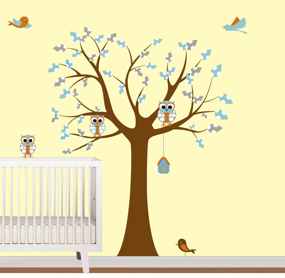 Baby Room Wall Decals Walmart
