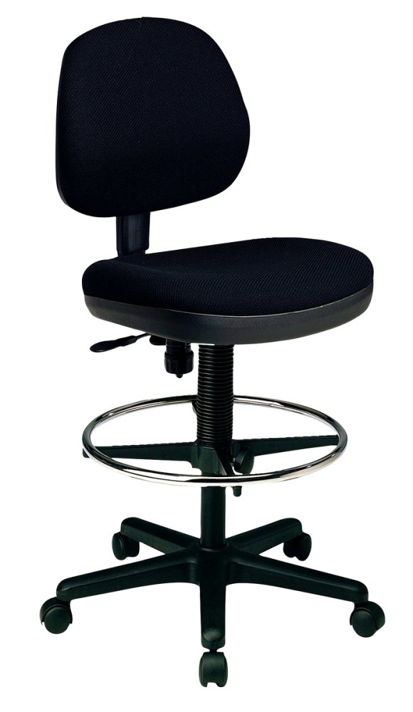 Backless Office Chair