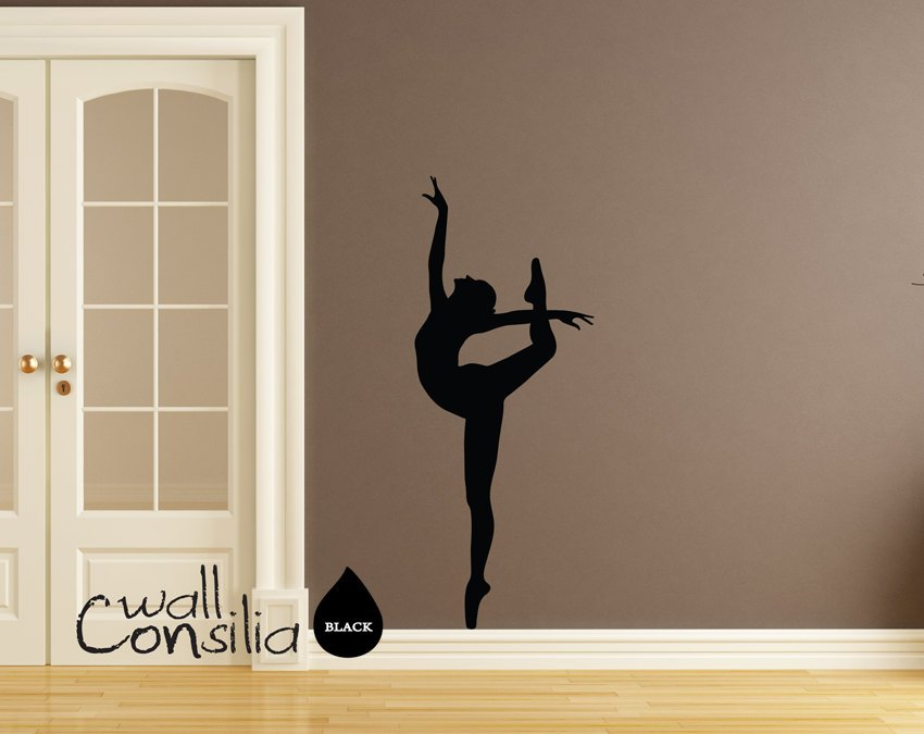Ballerina Wall Decals