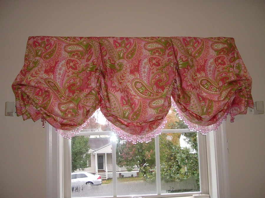 Balloon Valance Window Treatments