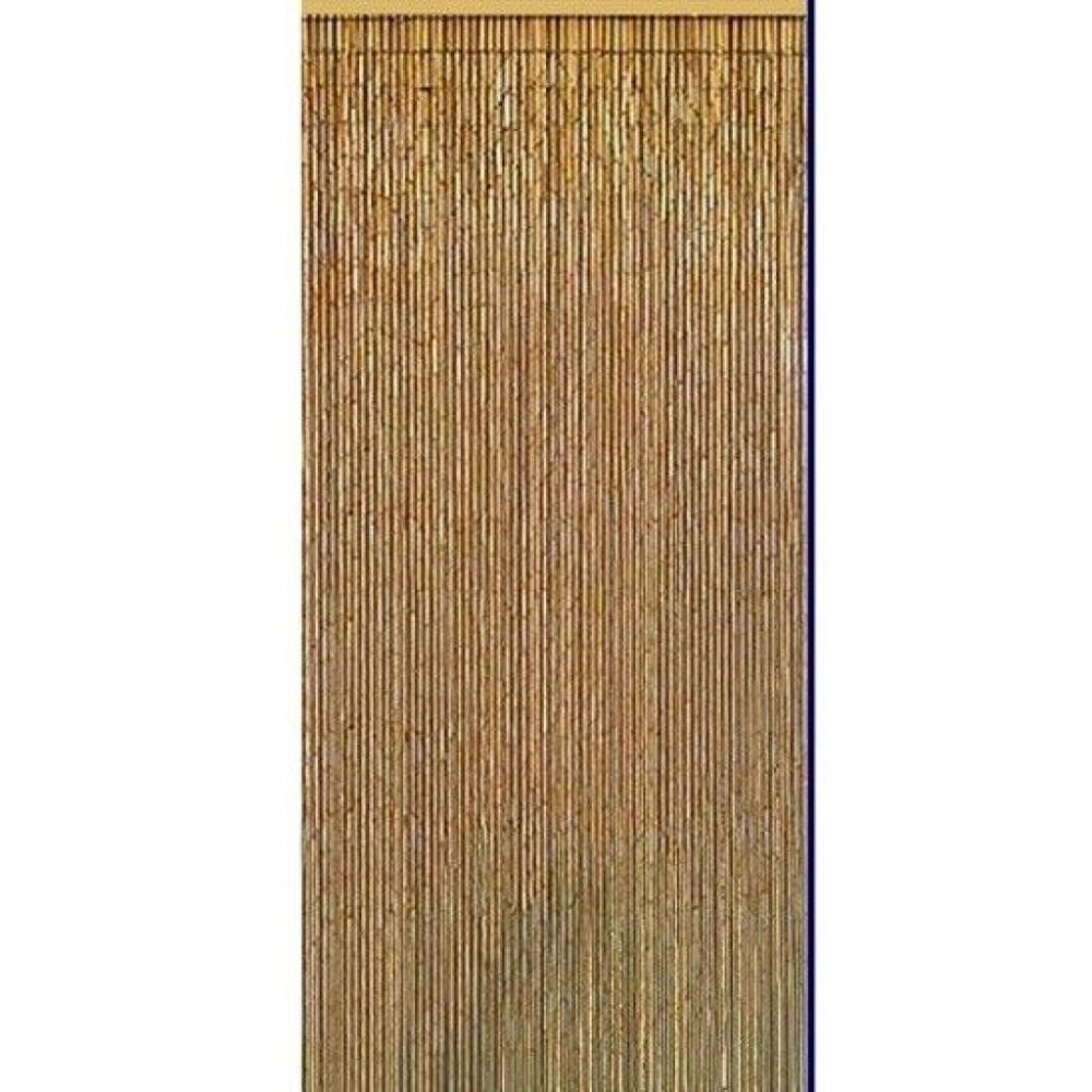 Bamboo Curtain Room Divider