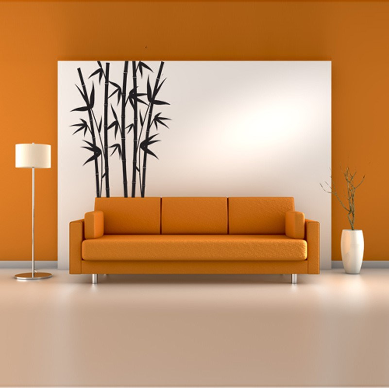 Bamboo Decal Wall Art