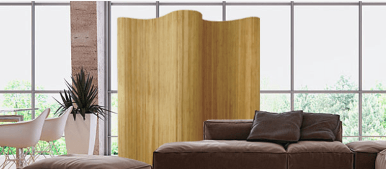 Bamboo Flexible Room Divider