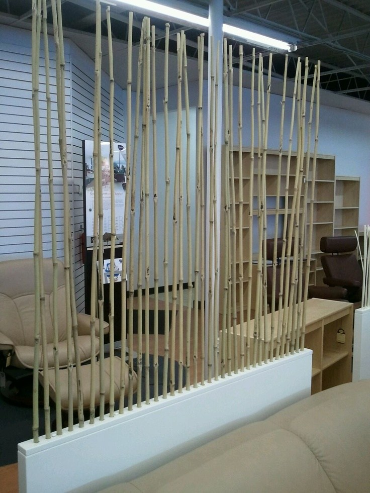 Bamboo Stick Room Divider