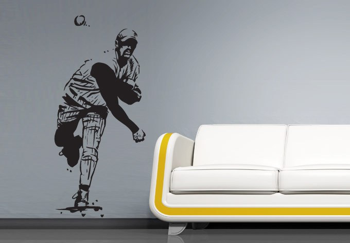 Baseball Decals For Walls