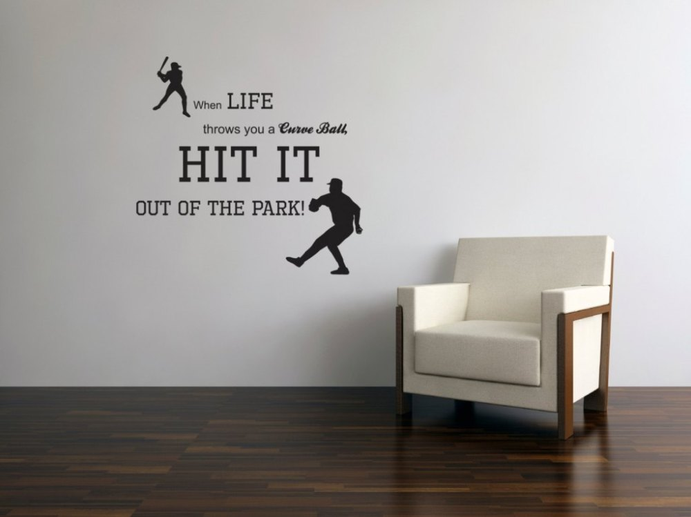 Baseball Wall Decals Nursery