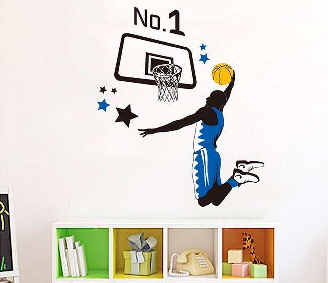 Basketball Wall Decals Canada