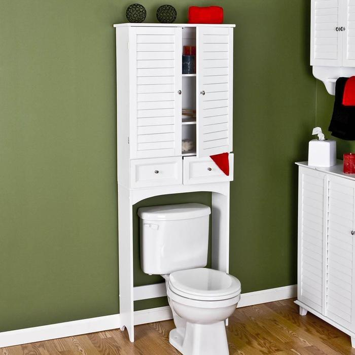 Bathroom Cabinet Ideas Over Toilet