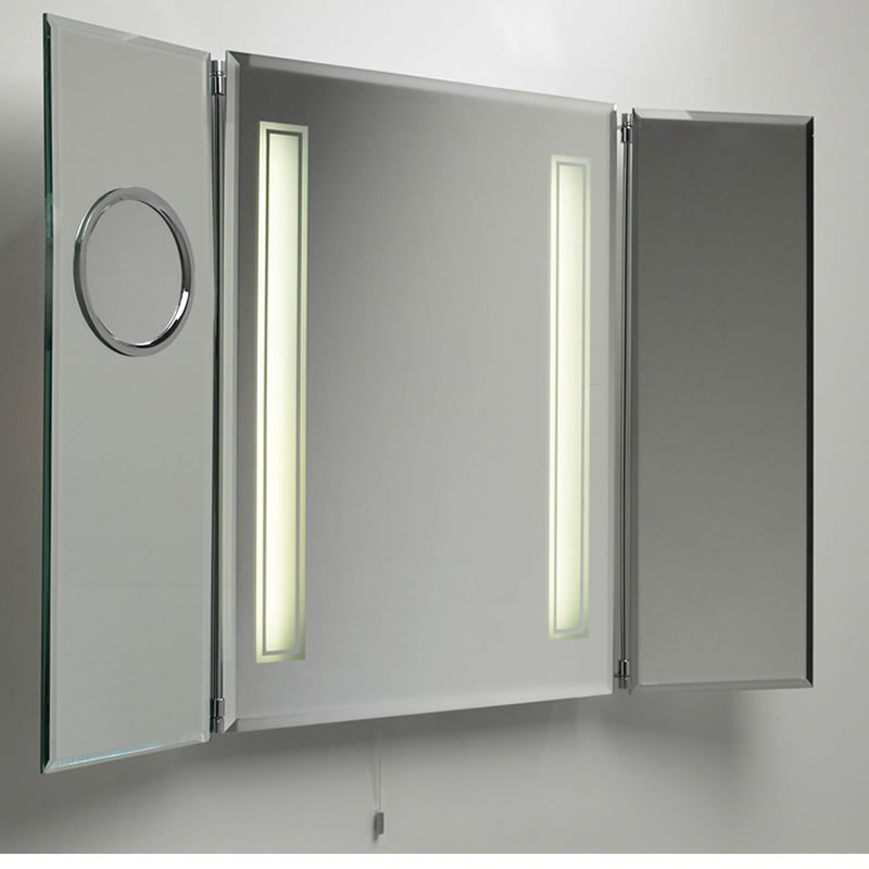 Bathroom Cabinet With Mirror And Light