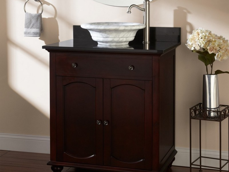 Bathroom Cabinets With Bowl Sinks