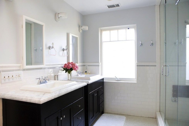 Bathroom Colors With Black Cabinets