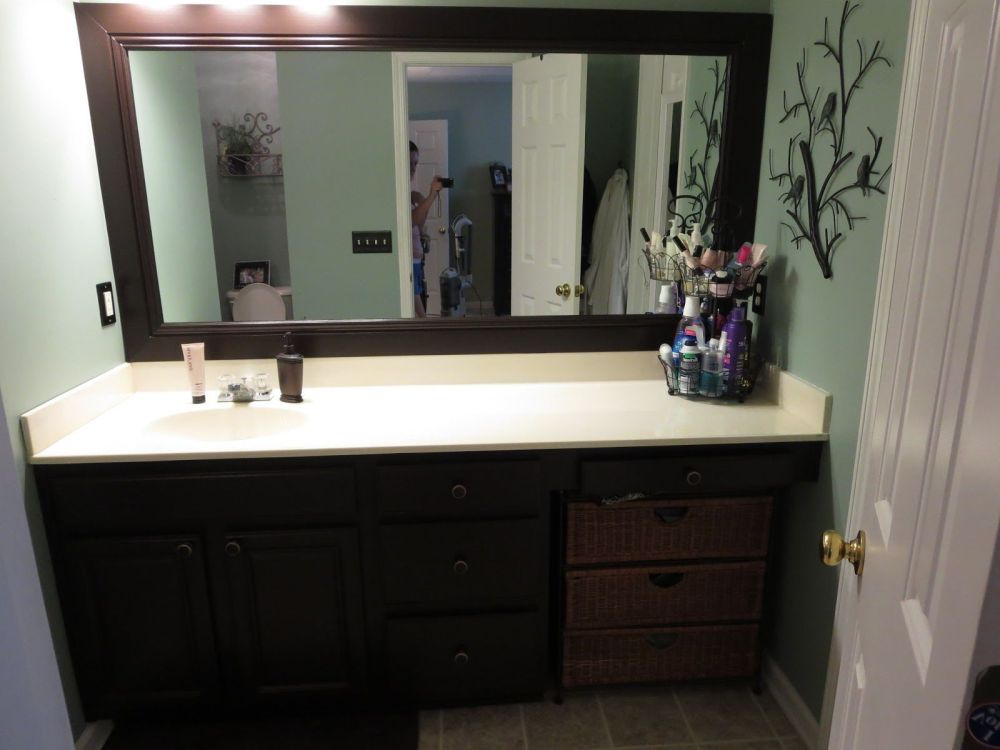 Bathroom Colors With Dark Cabinets