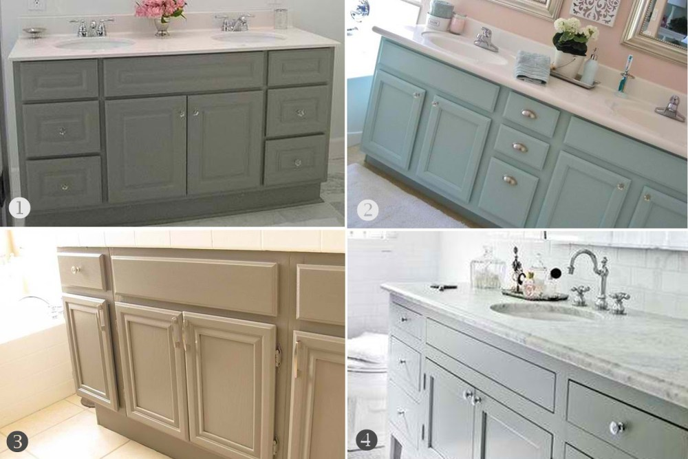 Bathroom Colors With Oak Cabinets