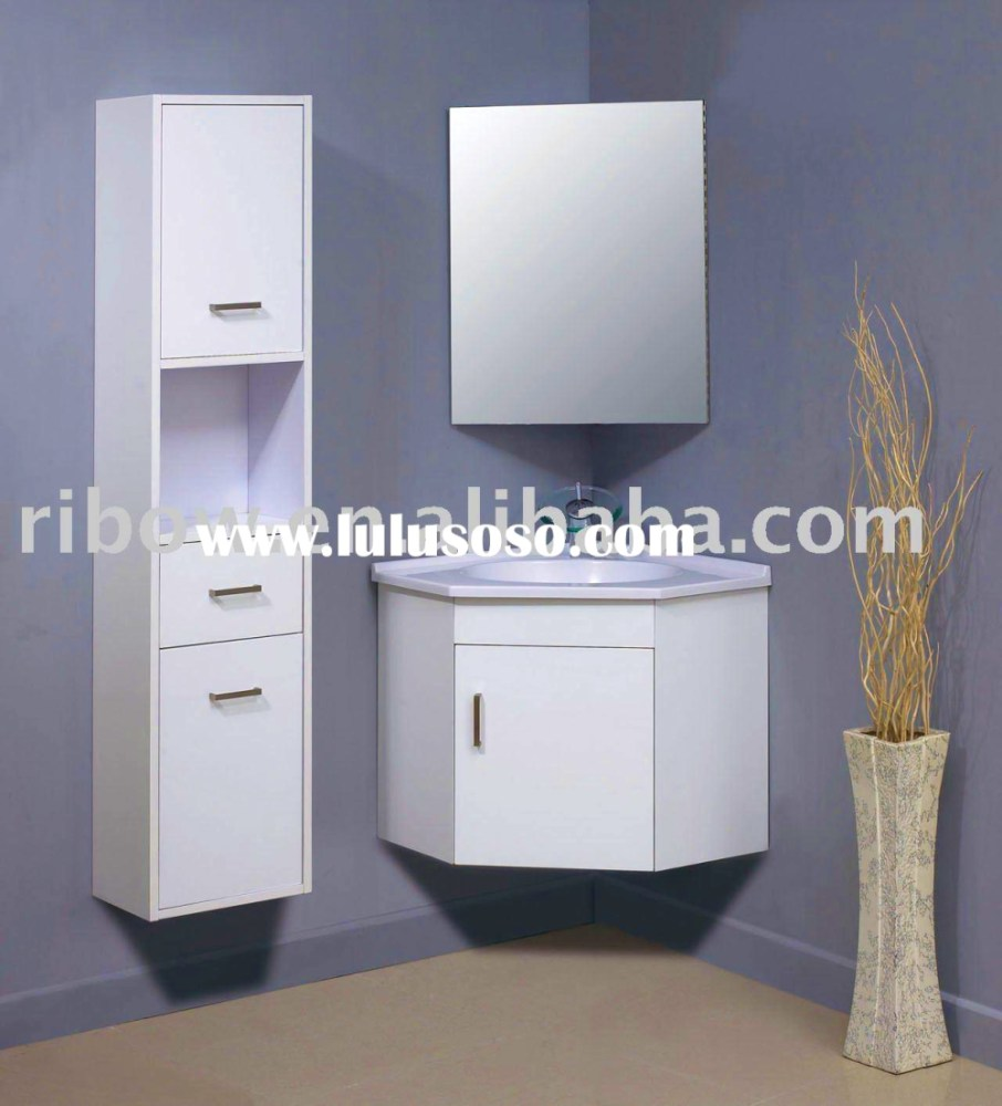 Bathroom Corner Cabinet Designs