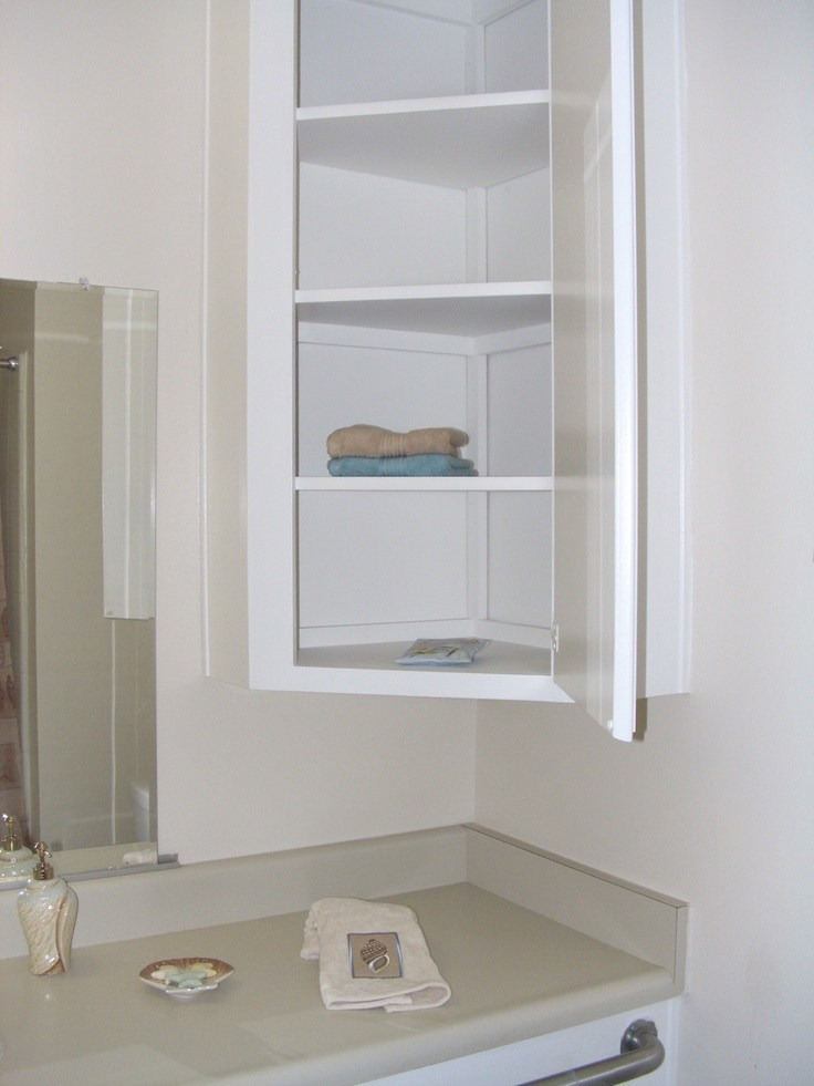 Bathroom Corner Cabinet Wall Mounted