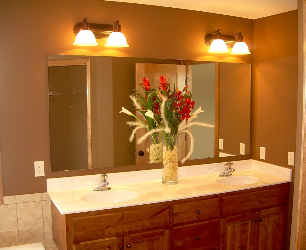 Bathroom Design Mirrors And Lighting