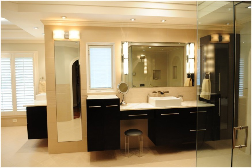 Bathroom Floor To Ceiling Cabinets