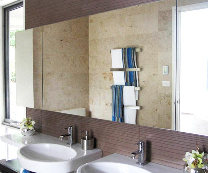 Bathroom Frameless Mirrors