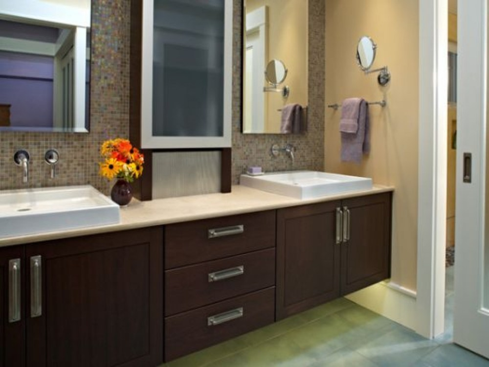 Bathroom Ideas With Brown Cabinets