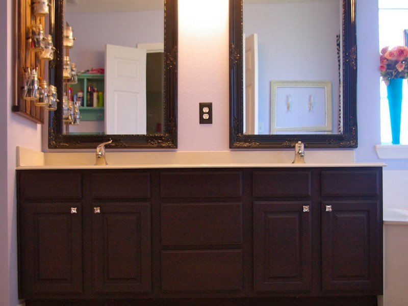 Bathroom Ideas With Oak Cabinets