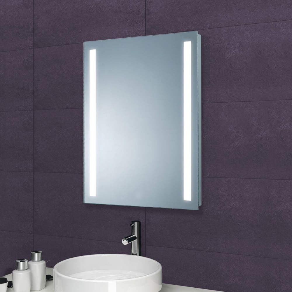 Bathroom Led Mirror With Shaver Socket