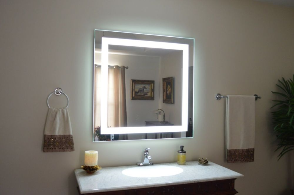 Bathroom Makeup Mirrors Wall