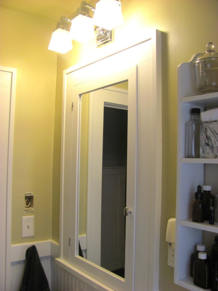 Bathroom Medicine Cabinet With Light