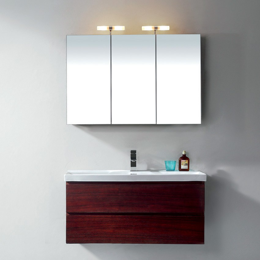 Bathroom Mirror Cabinet With Lights And Shaver Socket
