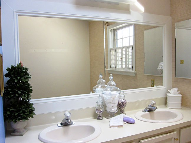 Bathroom Mirror Frame Ideas