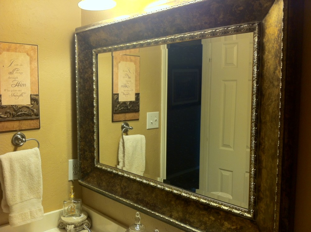 Bathroom Mirror Home Depot