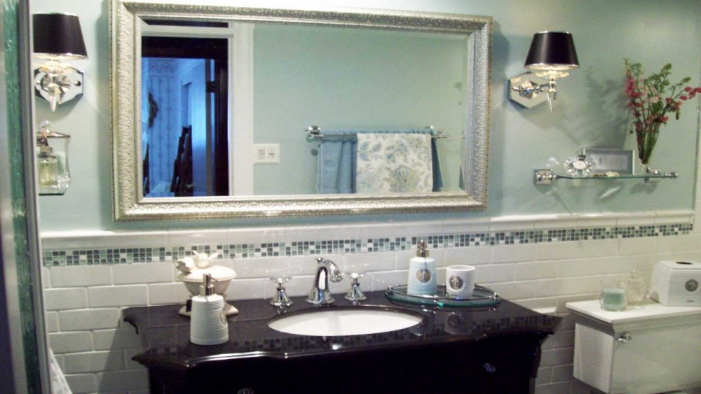Bathroom Mirror Makeover Diy