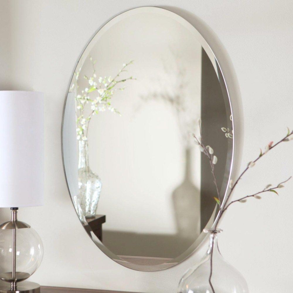 Bathroom Mirror Oval