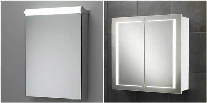 Bathroom Mirror Storage Cabinet