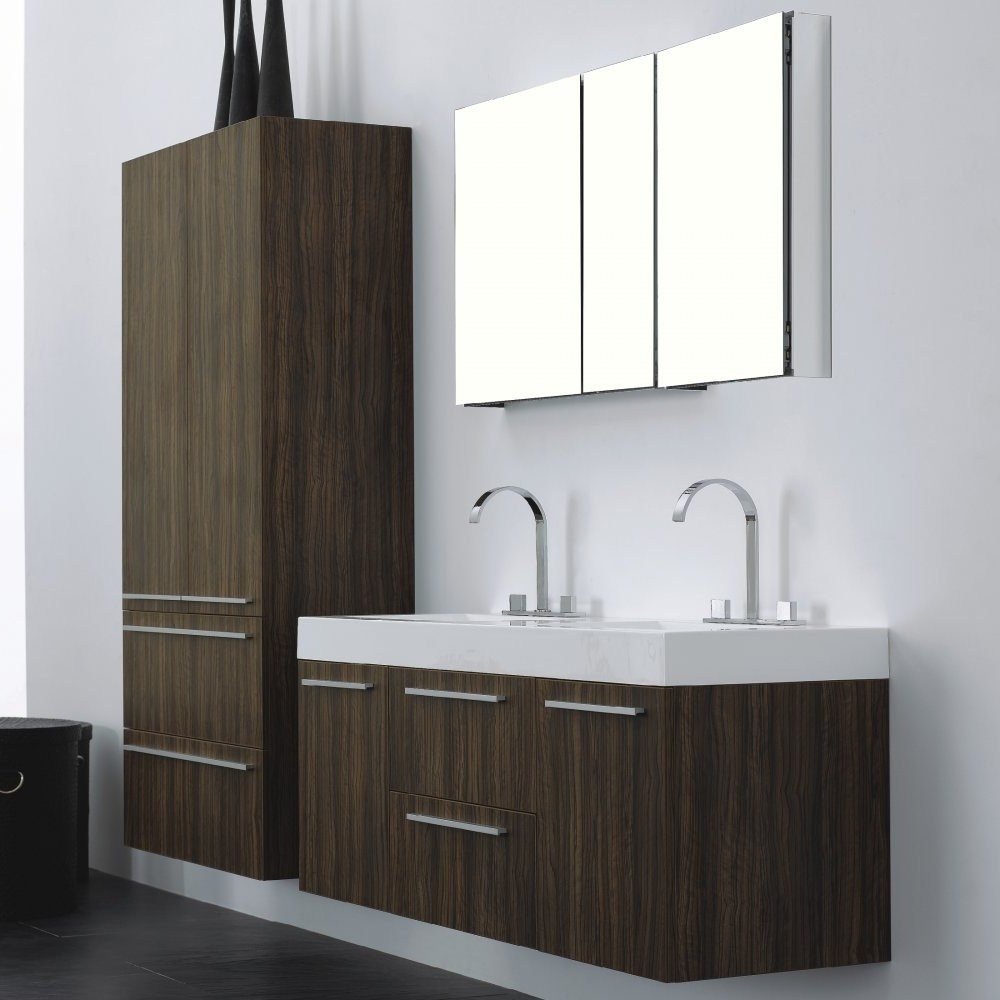Bathroom Mirror Storage Unit
