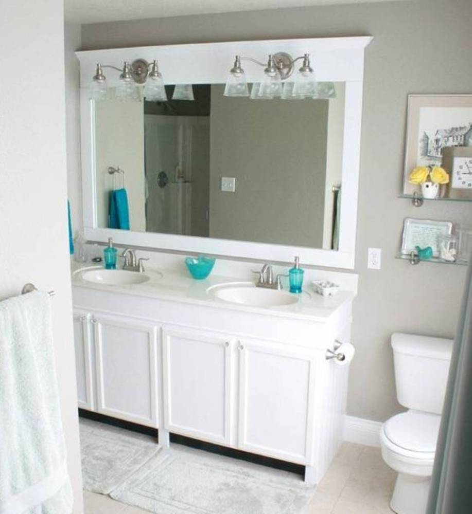 Bathroom Mirror White