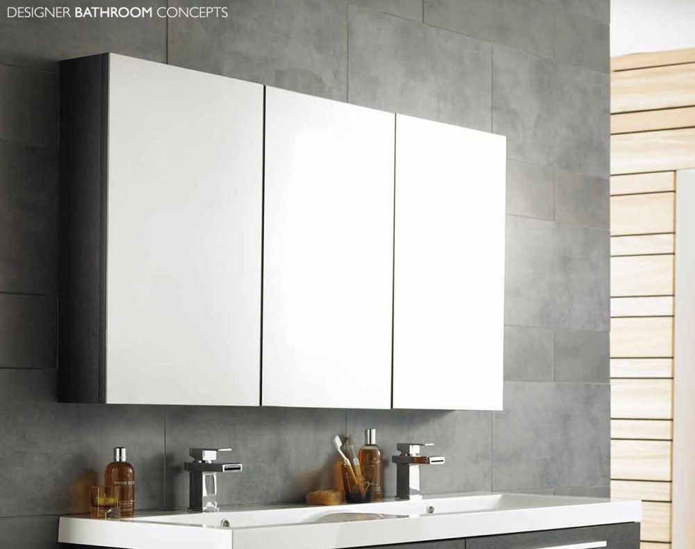 Bathroom Mirror With Cabinet