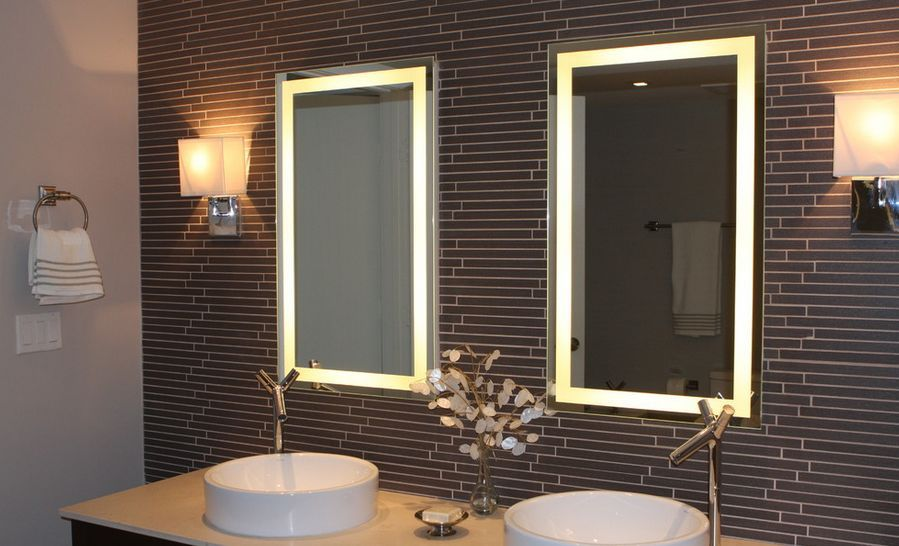 Bathroom Mirror With Led Lights India