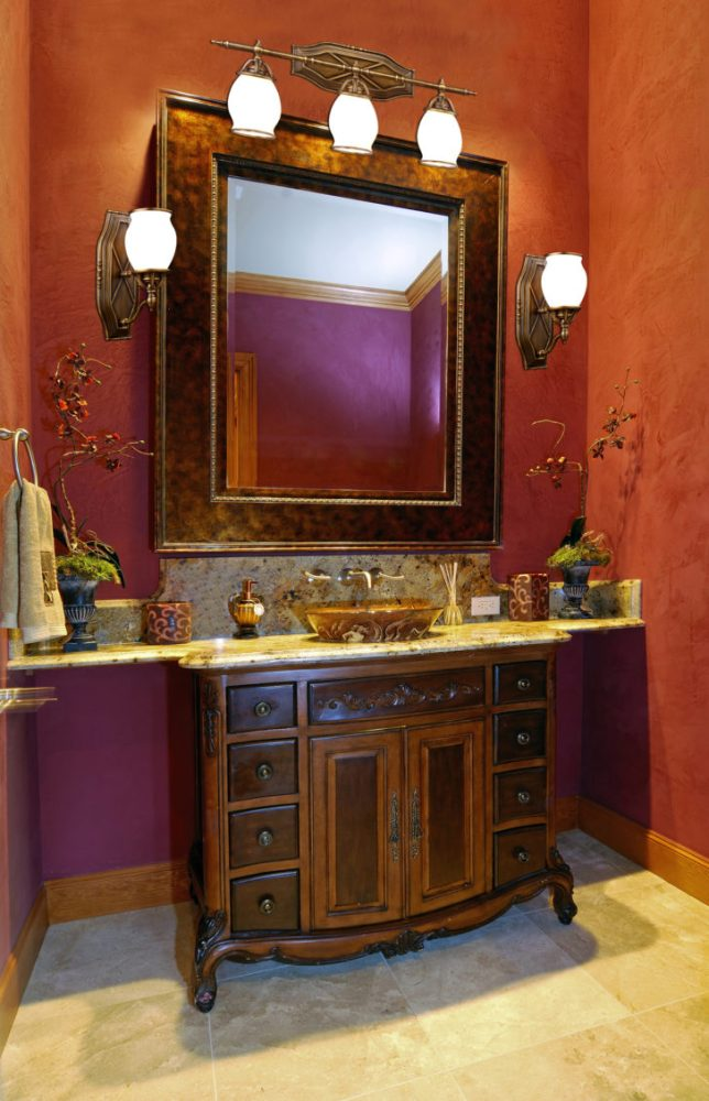 Bathroom Mirror With Lights And Storage