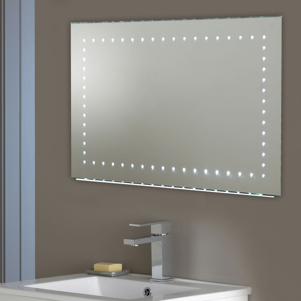 Bathroom Mirror With Lights Around It