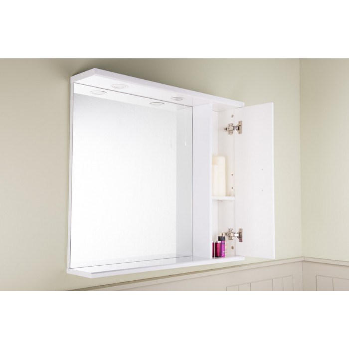Bathroom Mirror With Storage And Light