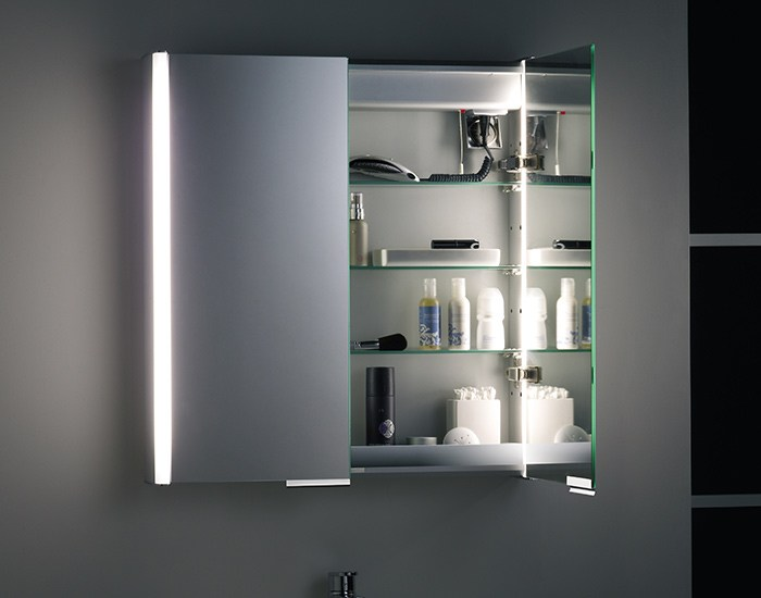 Bathroom Mirrored Medicine Cabinets With Lights