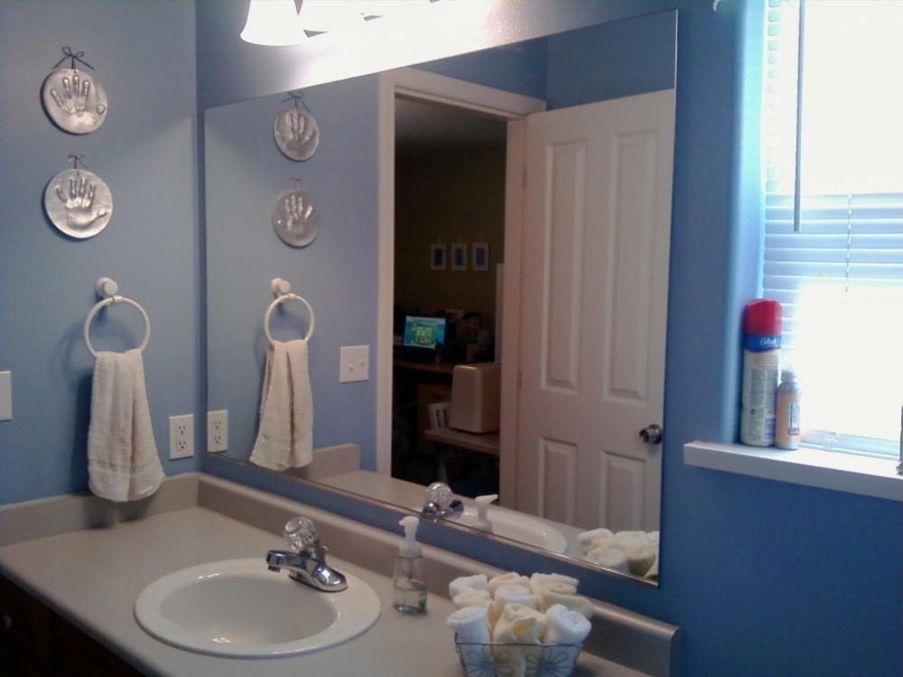 Bathroom Mirrors Oval Frameless