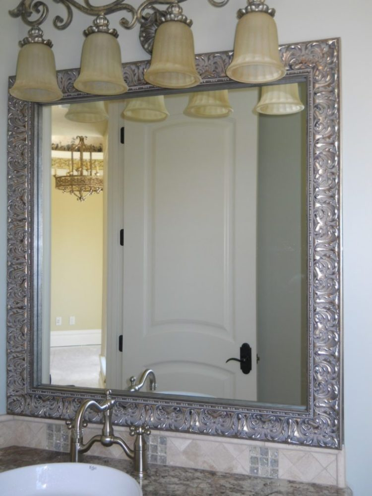 Bathroom Mirrors With Chrome Frame