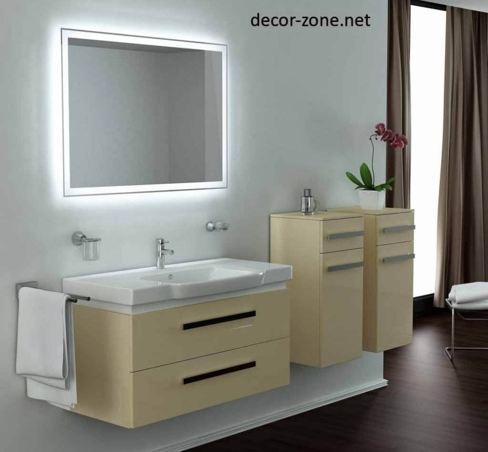 Bathroom Mirrors With Led Lights And Demister