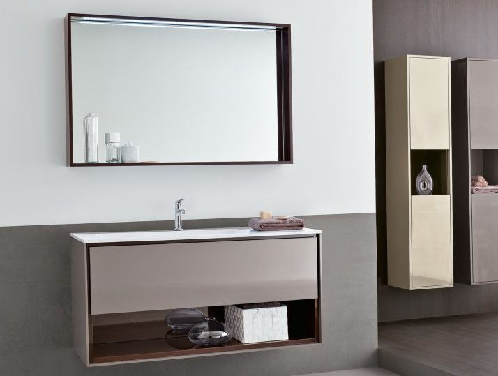 Bathroom Mirrors With Shelf And Lights
