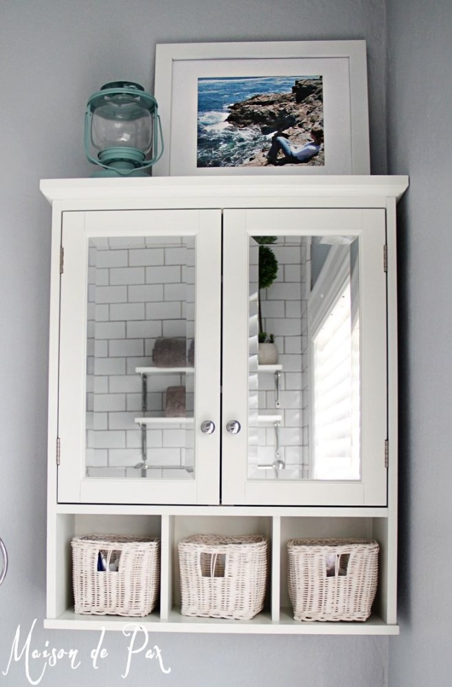 Bathroom Mirrors With Storage Behind
