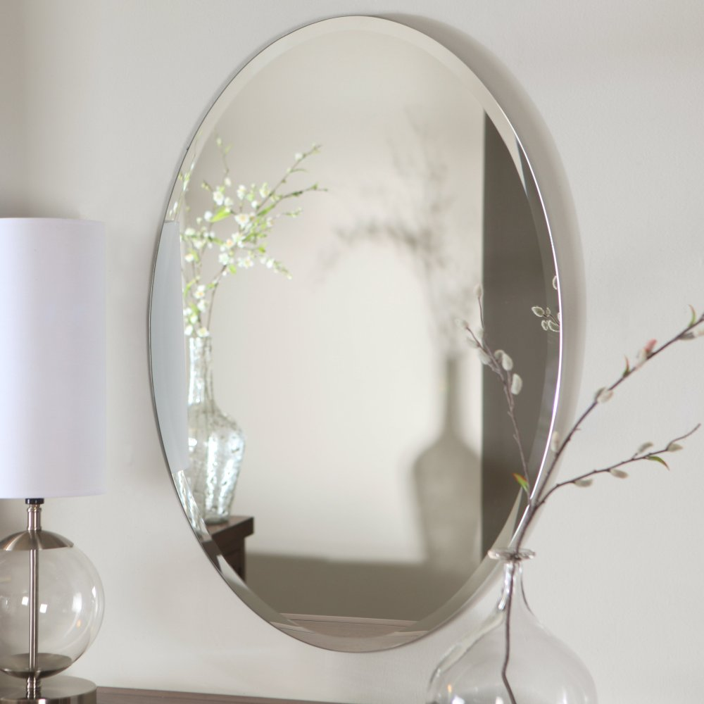 Bathroom Oval Mirror
