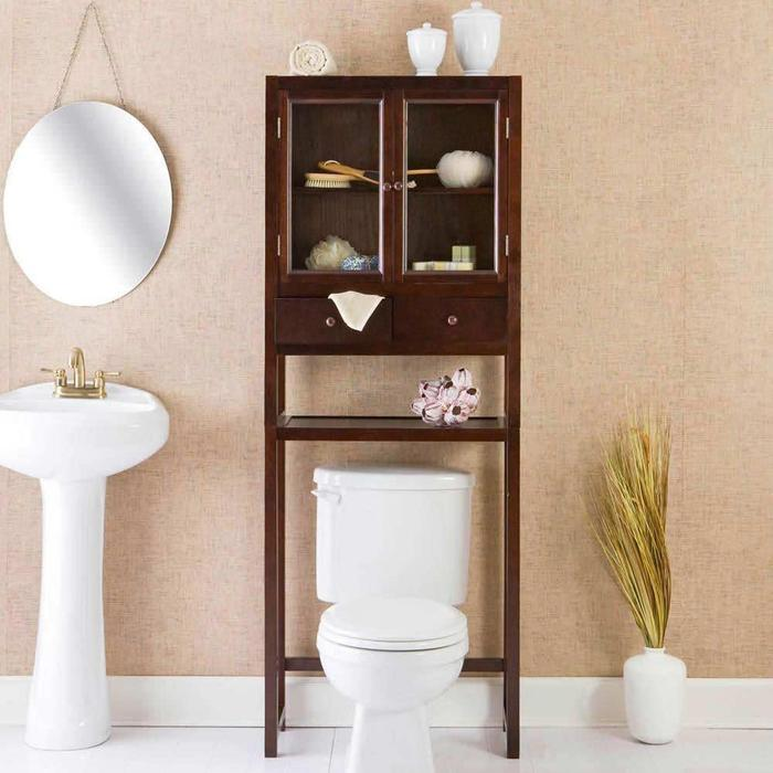 Bathroom Over Toilet Storage Cabinets